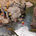 Canyoning rio Renegado