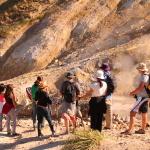 Trekking fumarolas