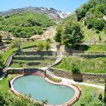 Piscinas parque de agua, nevados de Chillan